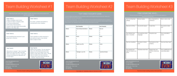team-building-worksheets