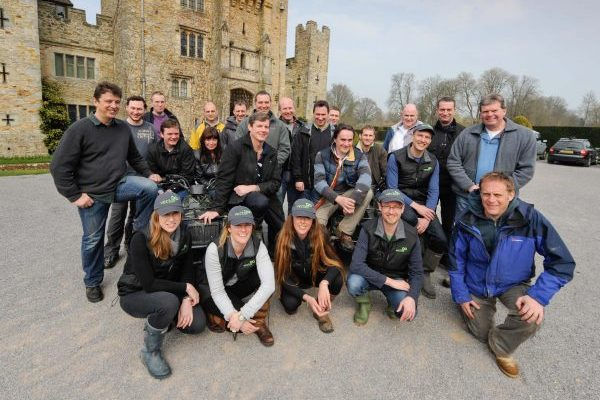 Team activity at Hever Castle