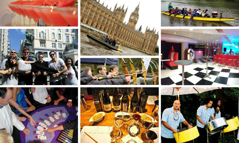 Corporate Events in London examples