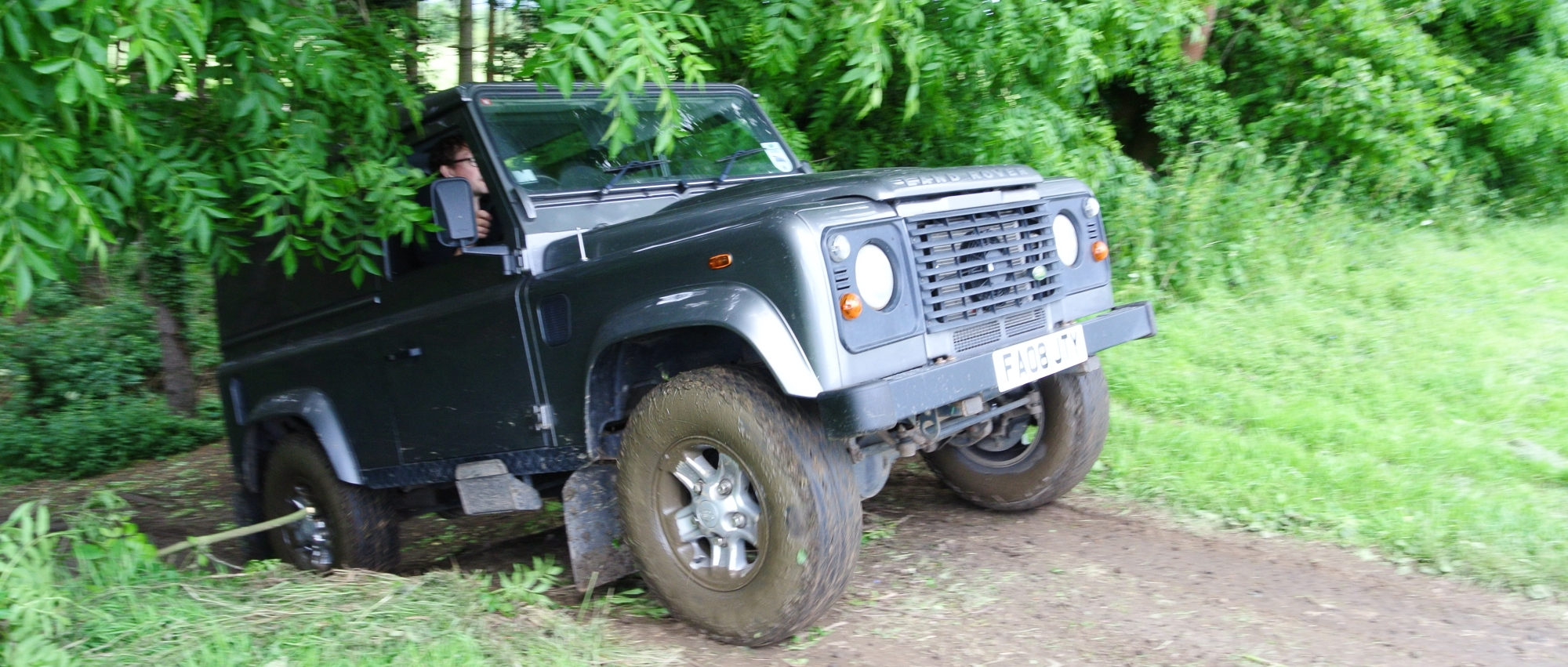 off road driving course at Ashtree farm