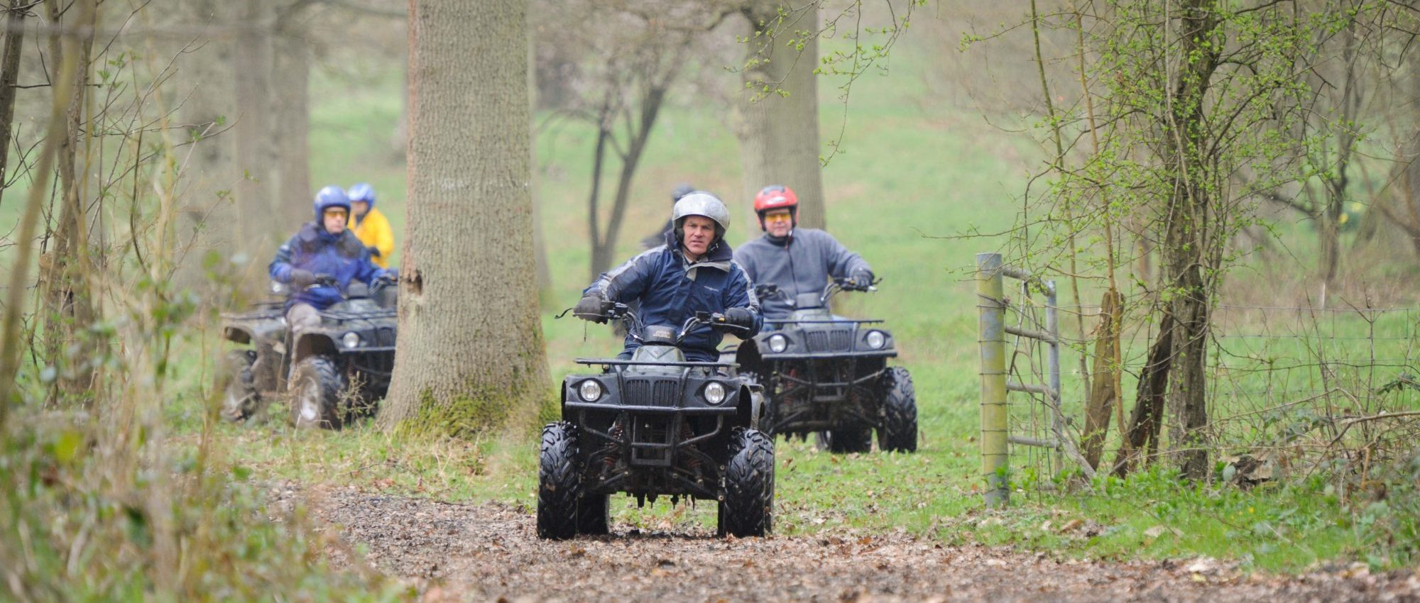 quad biking activity